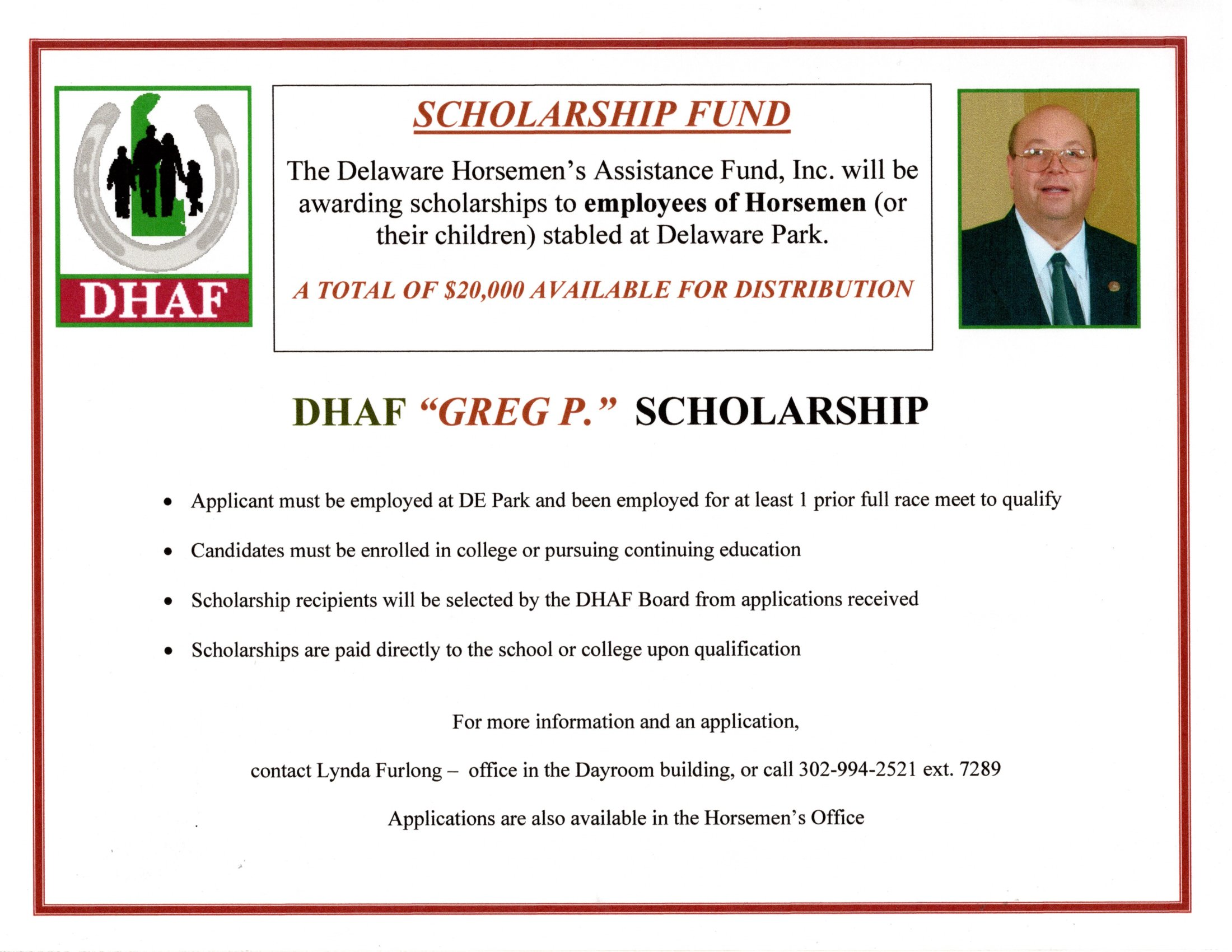 Greg P Scholarship